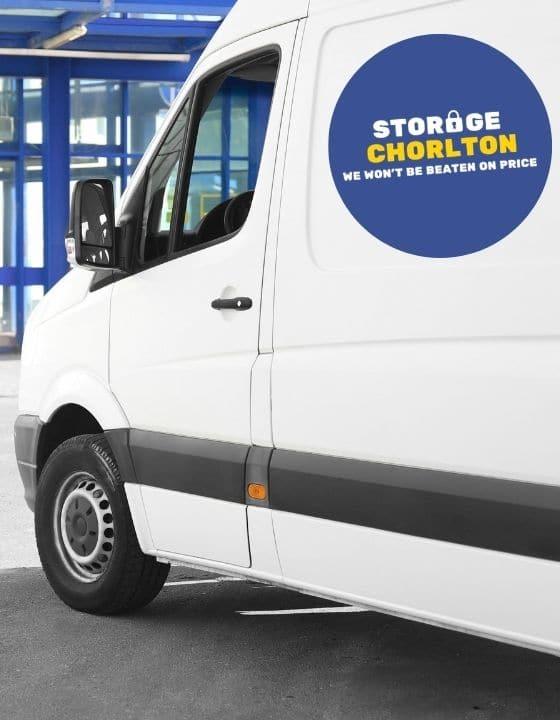Free Van Rental in Chorlton